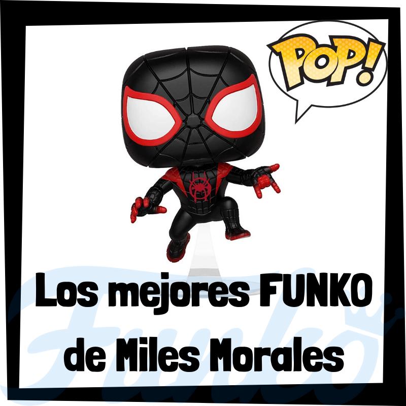 Los mejores FUNKO POP de Spiderman de Miles Morales