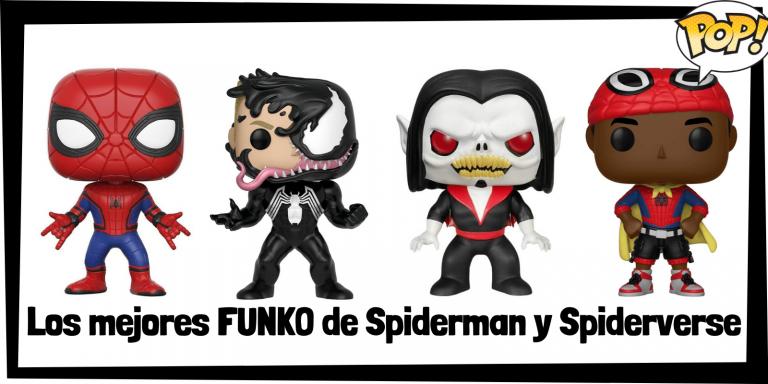 Los mejores FUNKO POP de Spiderman y Spiderverse - Los mejores FUNKO POP de grupos de personajes de Spiderman de Sony - Los mejores FUNKO POP de Marvel