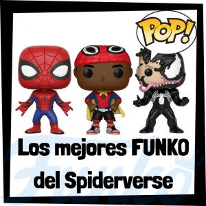 Los mejores FUNKO POP de Spiderman y personajes del Spiderverse - Los mejores FUNKO POP de grupos de personajes de Spiderman de Sony - Los mejores FUNKO POP de Marvel