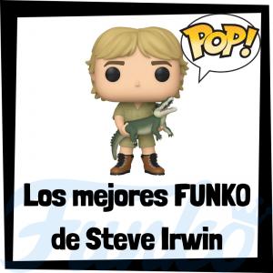 Los mejores FUNKO POP de Steve Irwin - Los mejores FUNKO POP de personajes históricos - Los mejores FUNKO POP de cazadores de cocodrilos