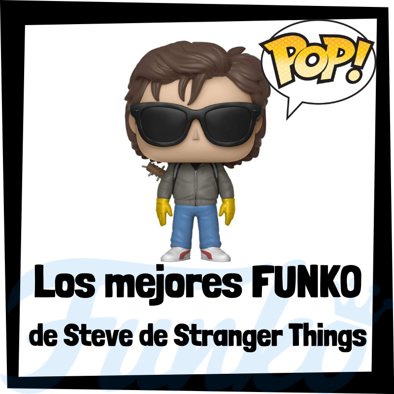 Los mejores FUNKO POP de Steve de Stranger Things