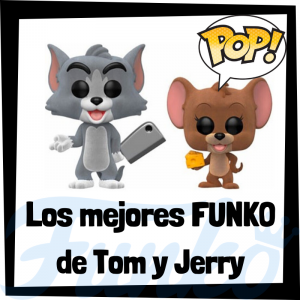 Los mejores FUNKO POP de Tom y Jerry - Funko POP de series de televisión de dibujos animados