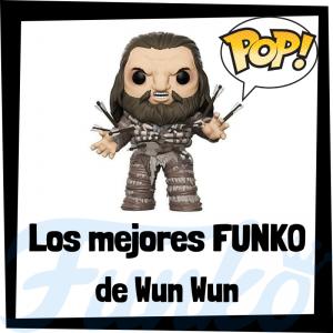 Los mejores FUNKO POP de Wun Wun de Juego de Tronos - Los mejores FUNKO POP del personaje de Wun Wun en Game of Thrones - Funko POP de series de televisión