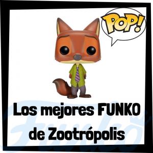 Los mejores FUNKO POP de Zootrópolis