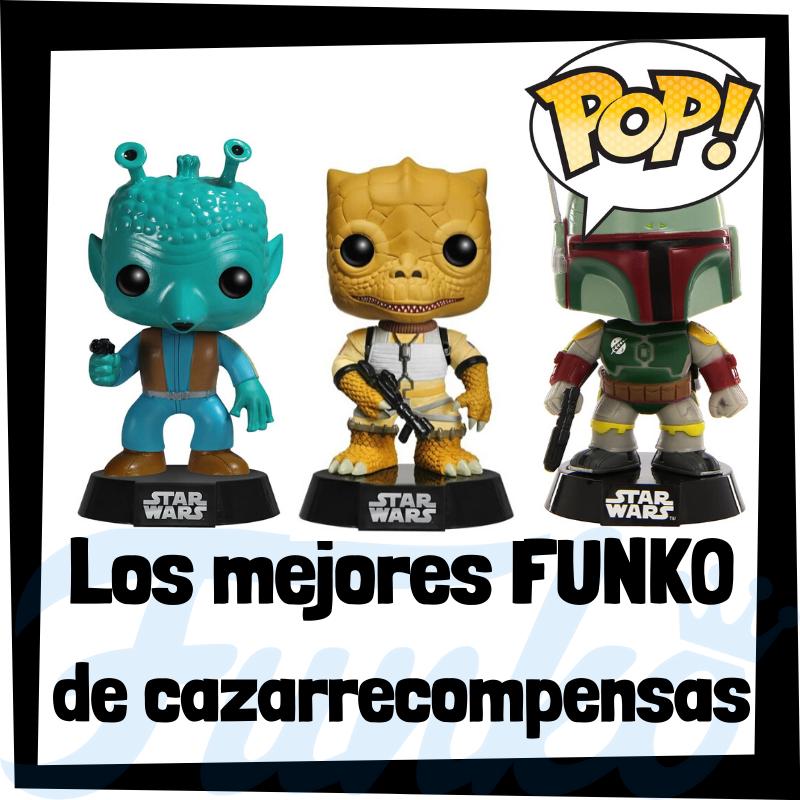 Los mejores FUNKO POP de cazarrecompensas de Star Wars