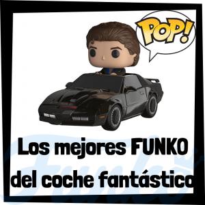 Los mejores FUNKO POP del coche fantástico - Los mejores FUNKO POP de personajes de Michael Knight en el coche fantástico - Funko POP de series de televisión