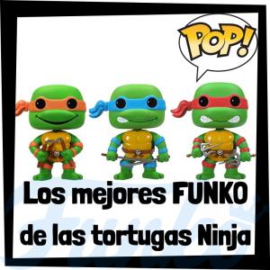 Los mejores FUNKO POP de las tortugas Ninja - Funko POP de series de televisión de dibujos animados