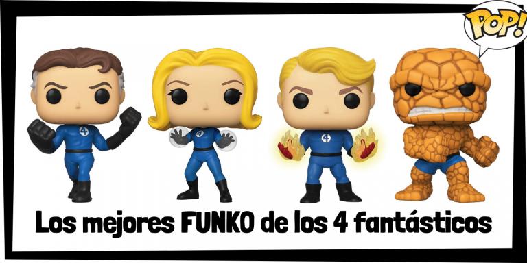 Los mejores FUNKO POP de los 4 fantásticos - Los mejores FUNKO POP de grupos de Marvel - Los mejores FUNKO POP de Marvel