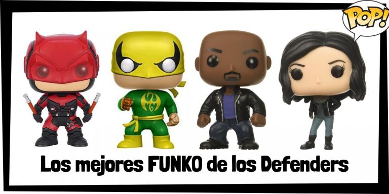 Los mejores FUNKO POP de los Defenders - Los mejores FUNKO POP de grupos de Marvel - Los mejores FUNKO POP de Marvel
