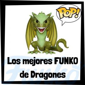 Los mejores FUNKO POP de los Dragones de Juego de Tronos - Los mejores FUNKO POP de los Dragones en Game of Thrones - Funko POP de series de televisión