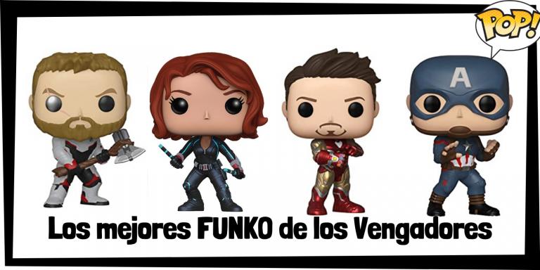 Los mejores FUNKO POP de los Vengadores - Los mejores FUNKO POP de grupos de Marvel - Los mejores FUNKO POP de Marvel