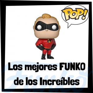 Los mejores FUNKO POP de los increíbles - Funko POP de películas de Disney Pixar - Funko de películas de animación