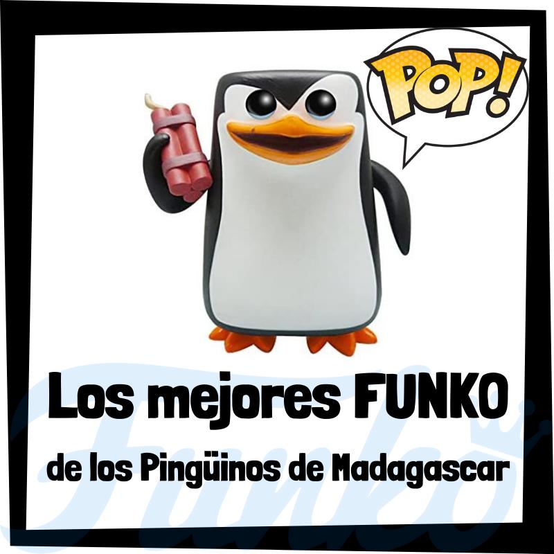 Los mejores FUNKO POP de los pingüinos de Madagascar