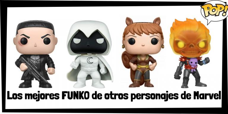 Los mejores FUNKO POP de otros personajes de Marvel - Los mejores FUNKO POP de grupos de Marvel - Los mejores FUNKO POP de Marvel