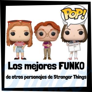 Los mejores FUNKO POP de otros personajes de Stranger Things - Los mejores FUNKO POP de la serie de Stranger Things - Funko POP de series de televisión