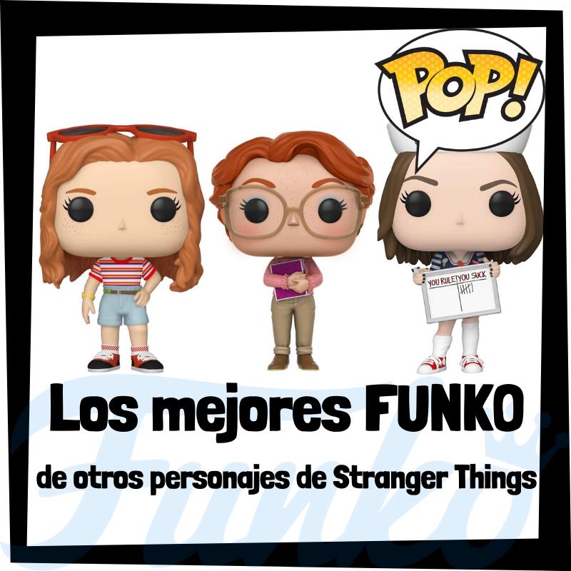 Los mejores FUNKO POP de otros personajes de Stranger Things