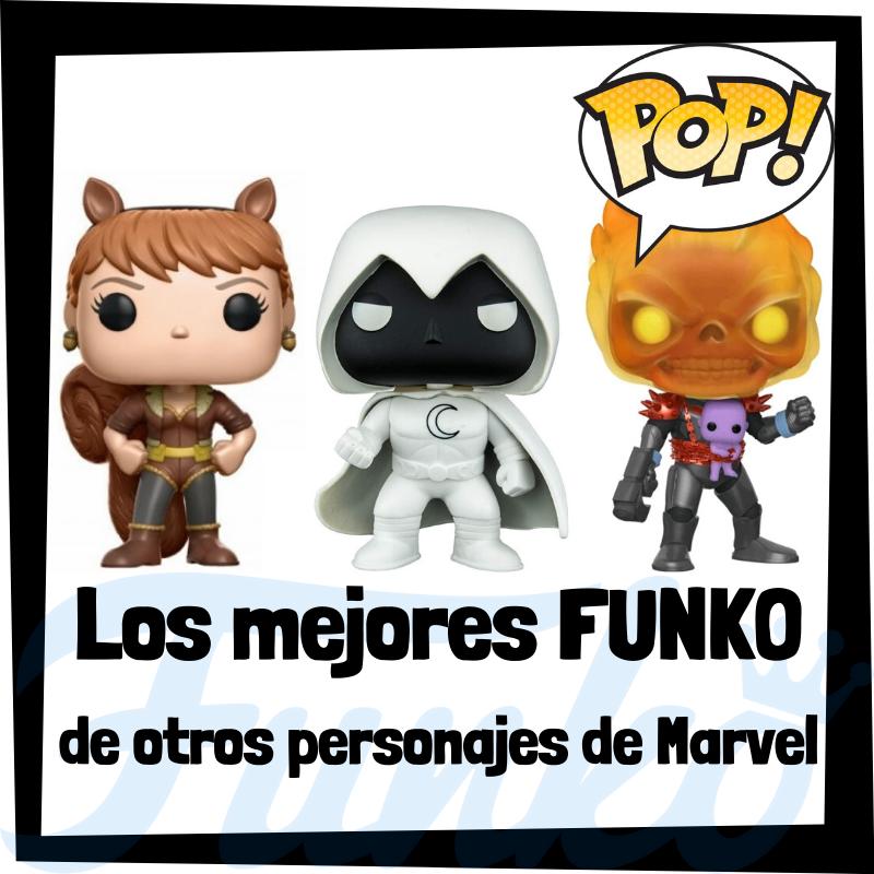 Los mejores FUNKO POP de otros personajes de Marvel