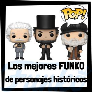 Los mejores FUNKO POP de personajes históricos - FUNKO POP de Historia - Los mejores FUNKO POP de científicos, pintores, inventores, presidentes, etc - Los mejores FUNKO POP históricos