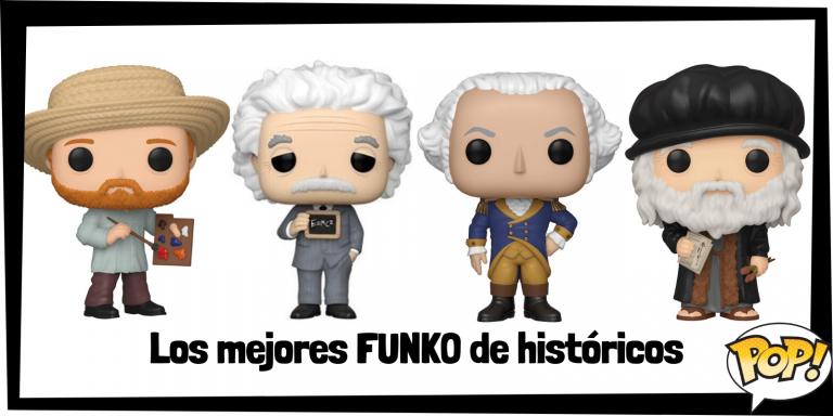 Los mejores FUNKO POP de personajes históricos relevantes de la HISTORIA - FUNKO POP de Historia - Los mejores FUNKO POP de científicos, pintores, inventores, presidentes, etc