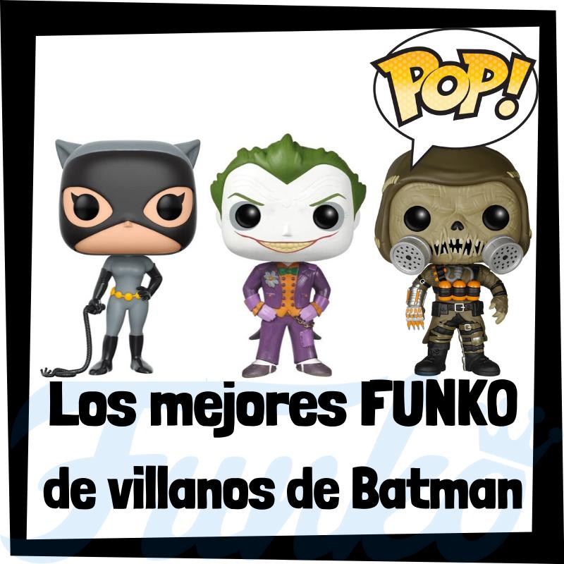 Los mejores FUNKO POP de villanos de Batman