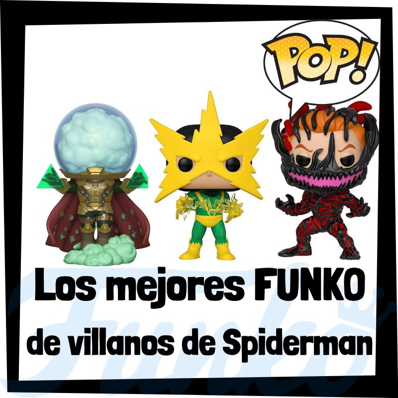 Los mejores FUNKO POP de villanos de Spiderman