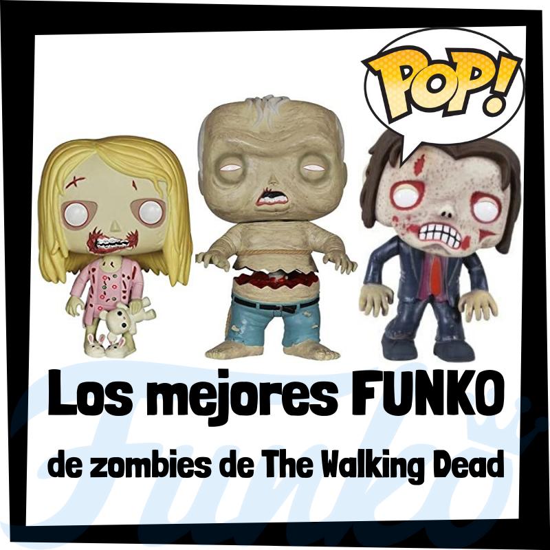 Los mejores FUNKO POP de zombies de The Walking Dead