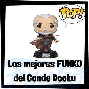 Los mejores FUNKO POP del Conde Dooku - Los mejores FUNKO POP de Star Wars - Los mejores FUNKO POP de las Guerra de las Galaxias