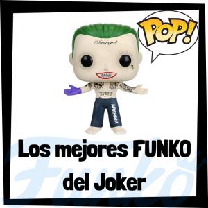 Los mejores FUNKO POP del Joker en Escuadrón Suicida - Funko POP de villanos de Suicide Squad - Funko POP de personajes de DC