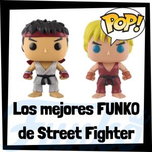 Los mejores FUNKO POP del Street Fighter - Funko POP de videojuegos