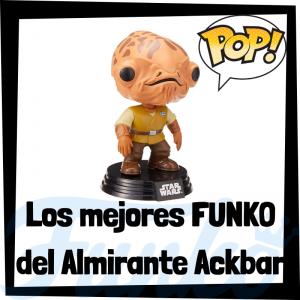 Los mejores FUNKO POP del almirante Ackbar - Los mejores FUNKO POP de Star Wars - Los mejores FUNKO POP de las Guerra de las Galaxias