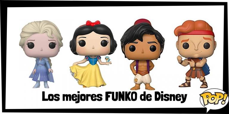 Los mejores FUNKO de Disney - FUNKO POP de personajes de Disney - Los mejores FUNKO POP de películas de animación de Disney