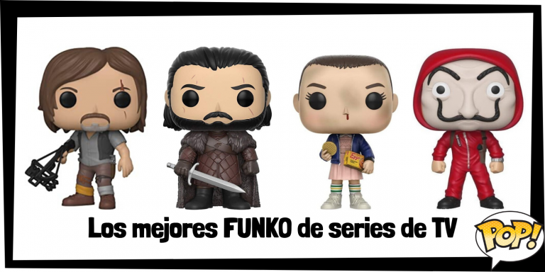 Los mejores FUNKO de series de televisión - FUNKO POP de series de TV de Netflix, HBO y más canales - Los mejores FUNKO POP de series