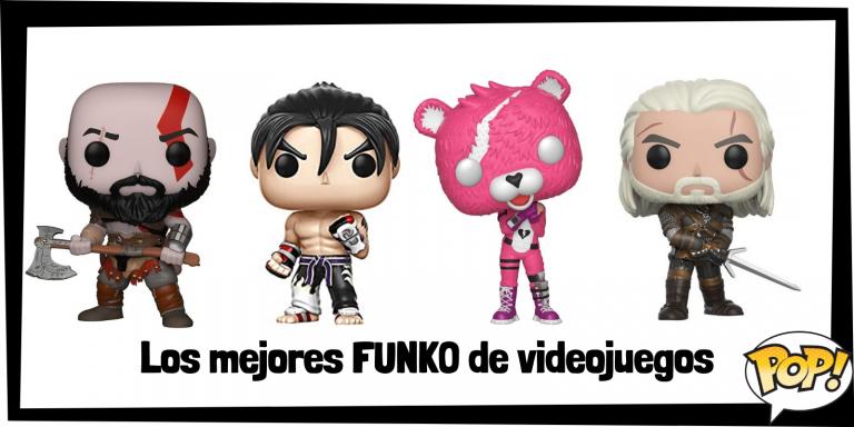 Los mejores FUNKO de videojuegos - FUNKO POP de personajes de videojuego - Los mejores FUNKO POP de consolas