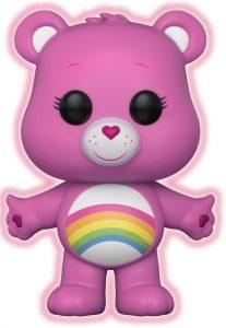 Funko POP de Alegrosita chase oscuridad - Cheer Bear - Los mejores FUNKO POP de los osos Amorosos - Care Bears - Los mejores FUNKO POP de series de dibujos animados