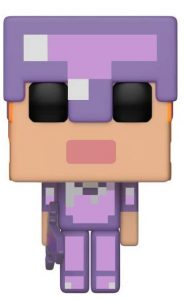 Funko POP de Alex con armadura exclusivo - Los mejores FUNKO POP del Minecraft - Los mejores FUNKO POP de personajes de videojuegos