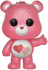 Funko POP de Amorosita - Love A Lot Bear Glitter - Los mejores FUNKO POP de los osos Amorosos - Care Bears - Los mejores FUNKO POP de series de dibujos animados