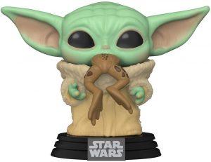 Funko POP de Baby Yoda comiendo una rana - Los mejores FUNKO POP de Baby Yoda - The Child de The Mandalorian - Los mejores FUNKO POP de personajes de Star Wars