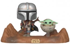 Funko POP de Baby Yoda con Mando - Los mejores FUNKO POP de Baby Yoda - The Child de The Mandalorian - Los mejores FUNKO POP de personajes de Star Wars