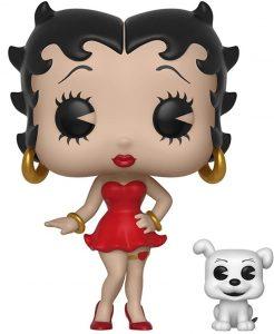 Funko POP de Betty Boop y Pudgy - Los mejores FUNKO POP de Betty Boop - Los mejores FUNKO POP de series de dibujos animados