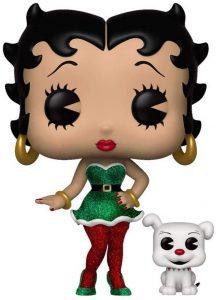 Funko POP de Betty Boop y Pudgy elfa navideña - Los mejores FUNKO POP de Betty Boop - Los mejores FUNKO POP de series de dibujos animados