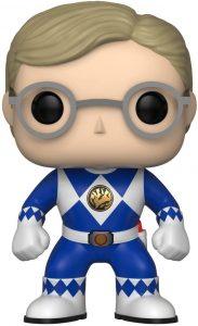 Funko POP de Billy - Power Ranger azul sin casco - Los mejores FUNKO POP de los Power Ranger - Funko POP de series de televisión
