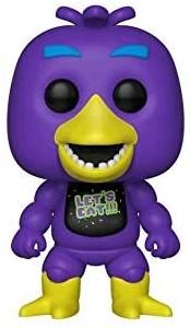 Funko POP de Blacklight Chica - Los mejores FUNKO POP del Five Nights at Freddy's - Los mejores FUNKO POP de personajes de videojuegos
