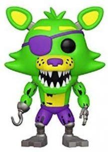 Funko POP de Blacklight Foxy - Los mejores FUNKO POP del Five Nights at Freddy's - Los mejores FUNKO POP de personajes de videojuegos