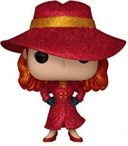 Funko POP de Carmen Sandiego con purpurina glitter - Los mejores FUNKO POP de Carmen Sandiego - Los mejores FUNKO POP de series de dibujos animados
