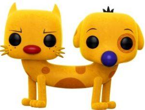 Funko POP de CatDog con pelo flocked - Los mejores FUNKO POP de CatDog - Los mejores FUNKO POP de series de dibujos animados