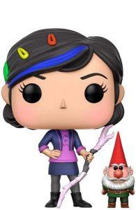 Funko POP de Claire con gnomo - Los mejores FUNKO POP de Trollhunters - Los mejores FUNKO POP de películas de dibujos animados