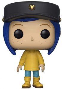 Funko POP de Coraline con chubasquero y sombrero chase exclusivo - Los mejores FUNKO POP de los mundos de Coraline - Funko POP de películas de animación