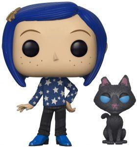 Funko POP de Coraline con gato - Los mejores FUNKO POP de los mundos de Coraline - Funko POP de películas de animación