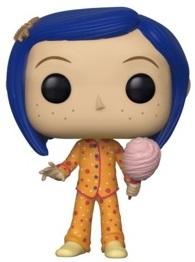 Funko POP de Coraline con pijama - Los mejores FUNKO POP de los mundos de Coraline - Funko POP de películas de animación