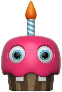 Funko POP de Cupcake rosa - Los mejores FUNKO POP del Five Nights at Freddy's - Los mejores FUNKO POP de personajes de videojuegos